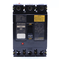* MITSUBISHI NF-SF-3030 30 AMP N0-FUSE CIRCUIT BREAKER 480V