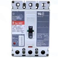 * WESTINGHOUSE HMCP HMCP050K2C 50A 600V CIRCUIT BREAKER
