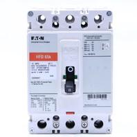 * EATON HFD 65k HFD3015BP10 15A 600V CIRCUIT BREAKER