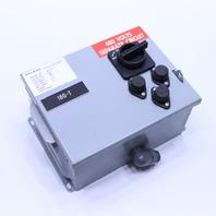 * DAYKIN MTFS-07 DISCONNECT TRANSFORMER 480V SINGLE PHASE 60HZ