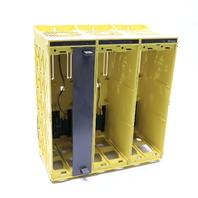 * GE FANUC 16T-MCU07402-001R00 RACK 3 POSITION W/ A20B-2000-0650 6 SLOT PC BOARD