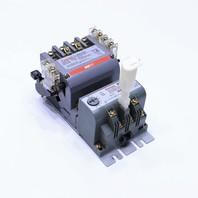 * FURNAS 14DST32AF 14DS+32AF CONTACTOR 600VAC 110-120V COIL W/ 48ASD3M20 OVERLOAD RELAY
