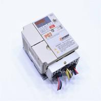 * SAFTRONICS CIMR-V7AU40P4 PC740P41 PC7 MINI VECTOR AC DRIVE