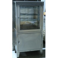 """* Q-LINE STAINLESS STEEL MEDICAL CABINET 30""""W x 60""""H x 16""""D"""