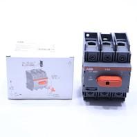 * NEW ABB OT30E3 30AMP DISCONNECT SWITCH 3 POLE 600VAC UL98