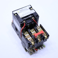 * SQUARE D 88536SBG2S SIZE 0 CONTACTOR 110-120V COIL 50-60HZ