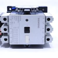 * SIEMENS 3TF48 STARTER 110-120V COIL 50-60HZ w/ 3UA58 40-2E OVERLOAD