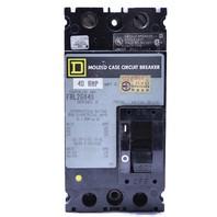 * SQUARE D FAL26040 40A 600V MOLDED CASE CIRCUIT BREAKER