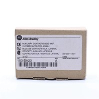 * NEW ALLEN BRADLEY 100-SA20 AUXILIARY CONTACT