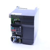 * SIEMENS 6SE3216-8CB40 MICROMASTER VECTOR 2HP DRIVE