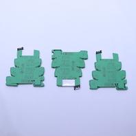 * LOT OF (3) PHOENIX CONTACT PLC-BSC- 24DC/21 TERMINAL BLOCKS