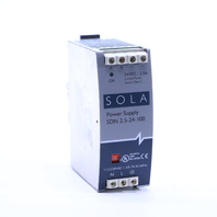 * SOLA SDN 2.5-24-100 POWER SUPPLY 2.5 AMP 24 VDC 115/230 VAC