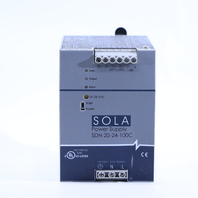 * SOLA EMERSON AUTOMATION SDN 20-24-100C POWER SUPPLY