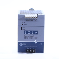 * SOLA SDN 10-24-100P POWER SUPPLY