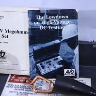 * BIDDLE 210415 15 kV MEGOHMMETER INSULATION VOLTAGE TESTER METER
