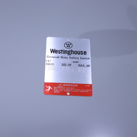 * NEW WESTINGHOUSE GFN323N 100 AMP SAFETY SWITCH