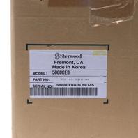 "* NEW SHERWOOD T5000CEB MONITOR TS-D-5000W 13"" 110/240V 50/60HZ W/ KEYBOARD"