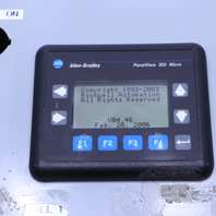 `` ALLEN BRADLEY 2711-M3A18L1 MICROLOGIX 1000 HOFFMAN A-12N126 ENCLOSURE CONTROL