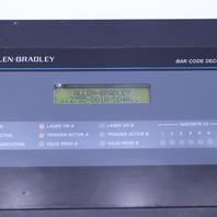`` ALLEN BRADLEY 2755-DD1A/DD4A BAR CODE DECODER