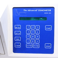 * THE ADVANCED INSTRUMENTS 3D3 SINGLE SAMPLE OSMOMETER