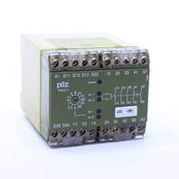 * PILZ PNOZ V 30S 3S 1SZ/1O 474790 SAFETY RELAY 22 AMP 4.5 W 24 V DC DUAL CHANNEL
