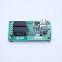 * TRANE 6400-1106-03 UCP3 DUAL RELAY OUTPUT PC CIRCUIT BOARD