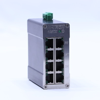 N-TRON 108TX ETHERNET SWITCH 8 PORT 10/100 BASETX 10-30 VDC