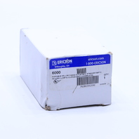 NEW ERICSON 6000 2-GANG OUTLET RECEPTACLE BOX