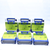 LOT OF (6) CARDIAC SCIENCE POWEHEART AED G3 9300E001