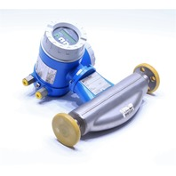 """NEW ENDRESS AND HAUSER PROMASS 60F/63F C08AAW00A25B1A 3/8"""" FLOWMETER"""