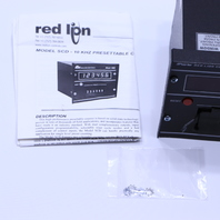 RED LION SCD COUNTER