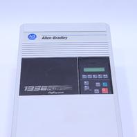 ALLEN BRADLEY PLUS II 1336F-B015-AA-EN-HAS2-L6 ADJUSTABLE FREQUENCY AC DRIVE