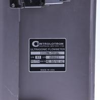 NEW CONTROLOTRON 1010MN-T2KGS ULTRASONIC FLOW METER