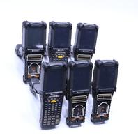 LOT OF (6) MOTOROLA MC9090 MC9090-GF0HBJGA2WR BARCODE SCANNERS