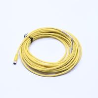 NIB ALLEN BRADLEY 8889P-F4UB-10 SER B 4-PIN FEMALE CABLE M8