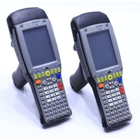LOT OF 2 PSION TEKLOGIX 7535 G2 BARCODE SCANNERS NO BATTERY