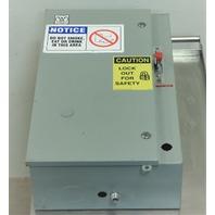 YASKAWA CIMR-G5U23P7 AC DRIVE WESTINGHOUSE ENCLOSURE MOTOR CONTROL HMCP030H1