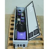NEW MCI PANEL INVERTEK OPTIDRIVE P2 ODP-2-54050-3HF4N-SN 50HP 2x ODP-2-24050-3HF42-SN 5HP