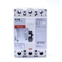 EATON HFD 65K HFD3060BP10 60 AMP 600V 250VDC 3 POLE CIRCUIT BREAKER w/ HANDLE LOCK