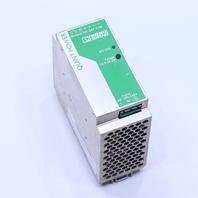 PHOENIX CONTACT QUINT-PS-100-240AC/24DC/ 2.5 POWER SUPPLY 1.1-0.42AMP 100-240VAC 50-60HZ 2.5 AMP 24 VDC