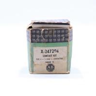 * ALLEN BRADLEY X-247294 SIZE 4 3 POLE CONTACT KIT