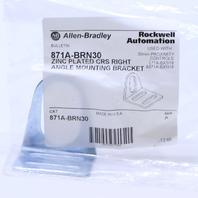 * NEW ALLEN BRADLEY 871A-BRN30 30 MM RIGHT ANGLE BRACKET