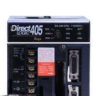 KOYO AUTOMATION DIRECT LOGIC D4-440 CPU MODULE