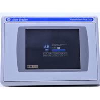 * ALLEN BRADLEY 2711P-RDT7C COLOR TOUCH DISPLAY MODULE PANELVIEW PLUS 6