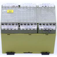 PILZ PZE 5V 8S 110VAC SAFETY RELAY 474974