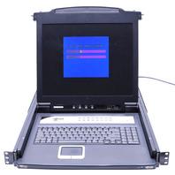 "Tripp-Lite B020-016-17 NetDirector 17"" 16-Port 1U Rack-Mount Console KVM Switch"