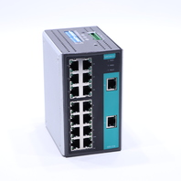 MOXA EDS-316 INDUSTRIAL ETHERNET SWITCH WITH 16 10/100BASET(X) PORTS