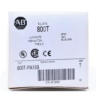 * NEW ALLEN BRADLEY 800T-PA16B SER T PUSH BUTTON