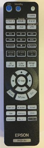 NEW Epson Seiko Projector Remote 217531300 CH-TW6300 CH-TZ1000 CH-TW6700W