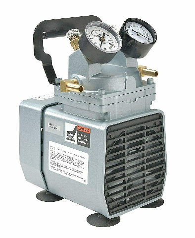 New GAST DOA-P704-AA Portable Oil-Free Electric Vacuum Pump FREE SHIPPING
